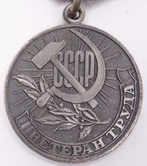 Soviet Veteran of Labor Medal