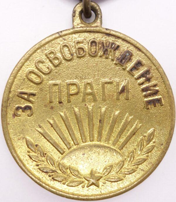 Soviet Medalfor the Liberation of Prague