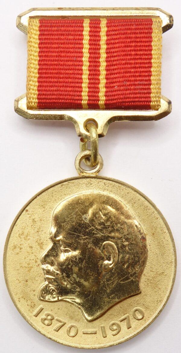 100 year lenin medal to foreigner