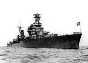 Medal of Ushakov Kirov cruiser
