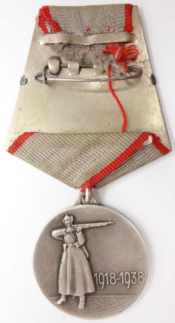XX years RKKA Medal