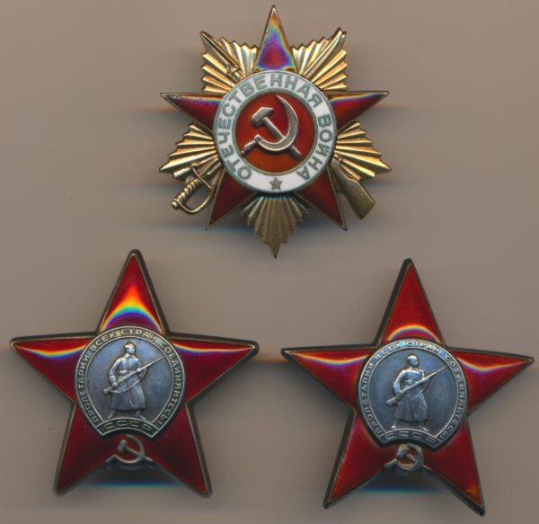 Group of Soviet Awards