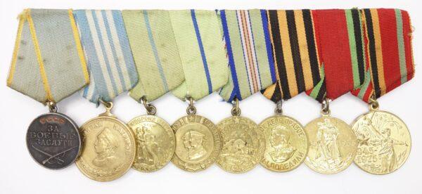 Soviet Medal of Nakhimov Group