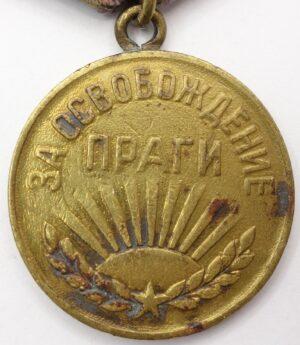 Soviet Medal for the Liberation of Prague