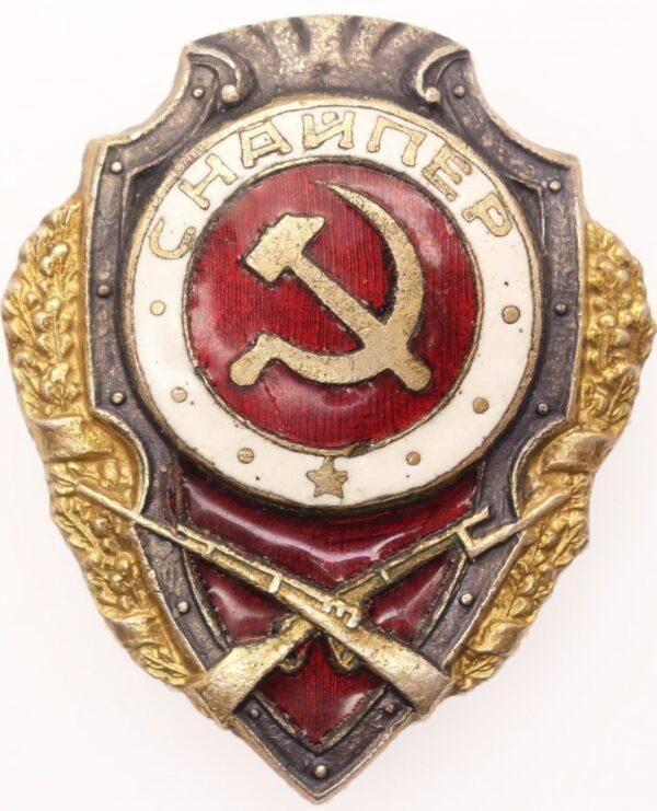 Soviet Excellent Sniper Badge