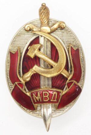 Distinguished MVD Employee Badge