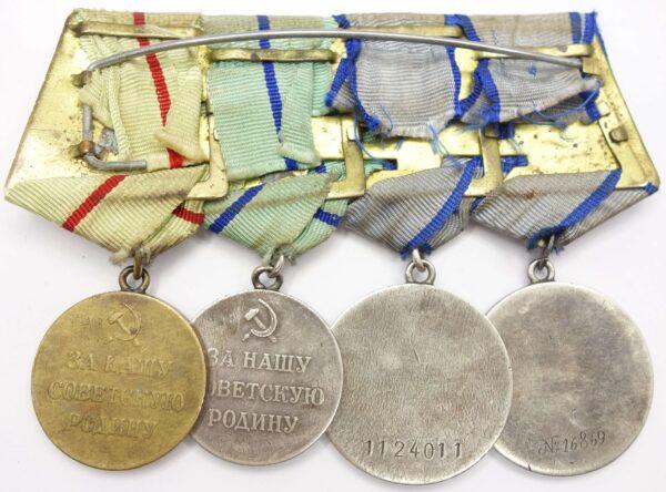 Soviet Partisan Medal grouping