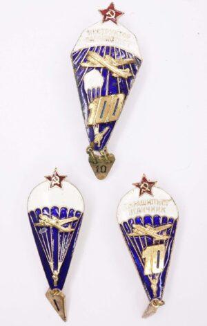 Soviet Parachute badges