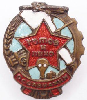 Ready for PVHO 'OSOAVIAKHIM' Badge
