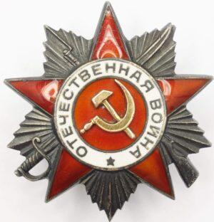 Order of the Patriotic War Post War