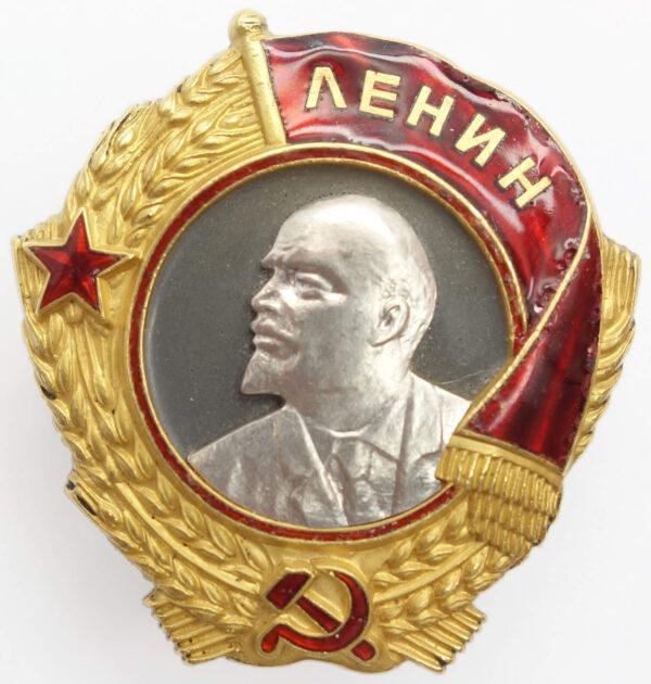 Soviet Order of Lenin Screwback