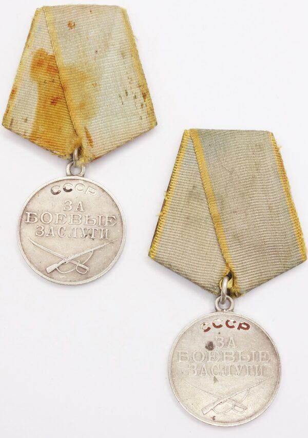 Soviet Medals for Combat Merit